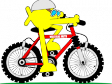 220x165 Mountain Bike Clipart Creative Design Of Mountain Bike Eps Vector