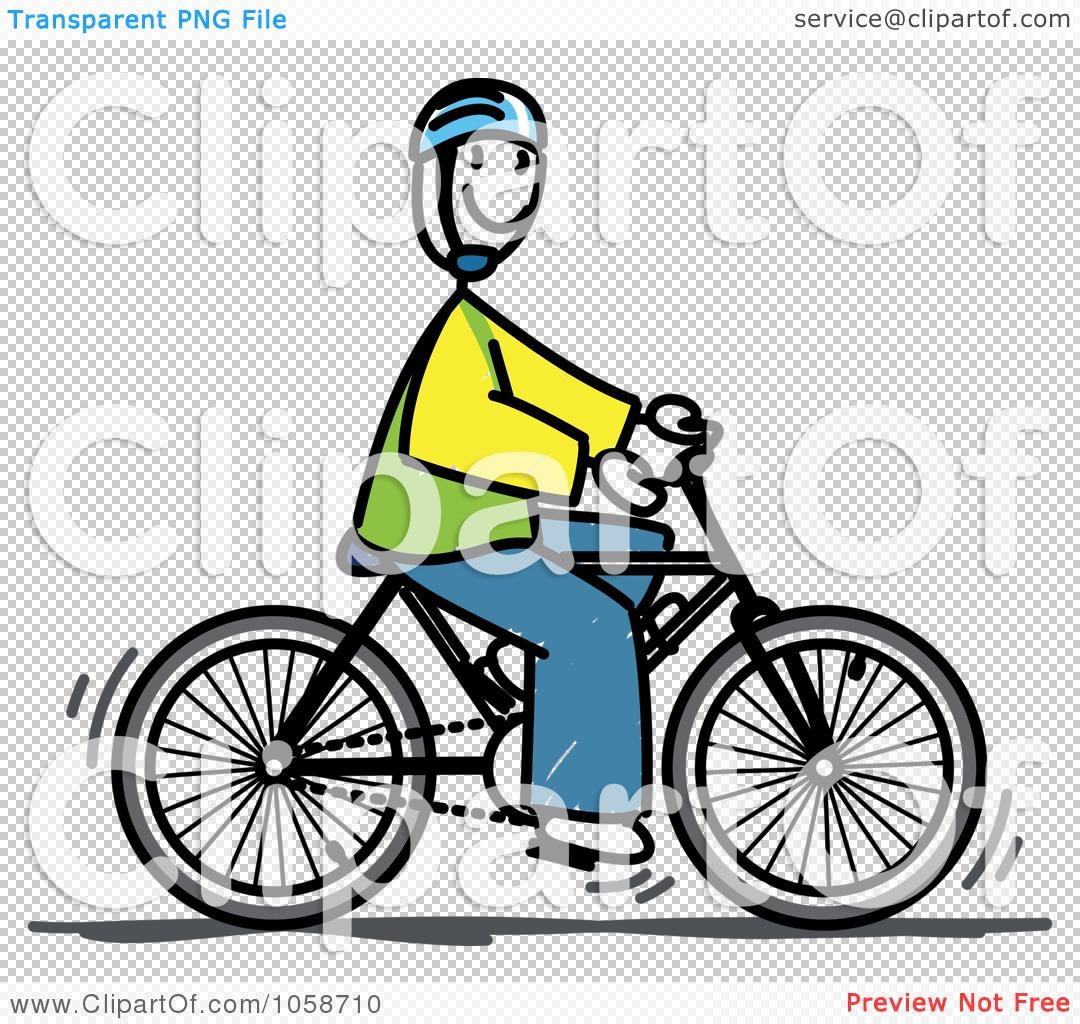 1080x1024 Royalty Free Vector Cliprt Illustration Of Stick Man Riding
