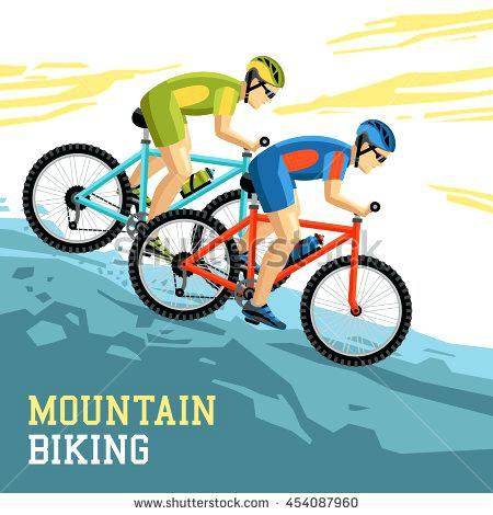 450x470 Mountain Biking Clip Art Clinicaltravel Work