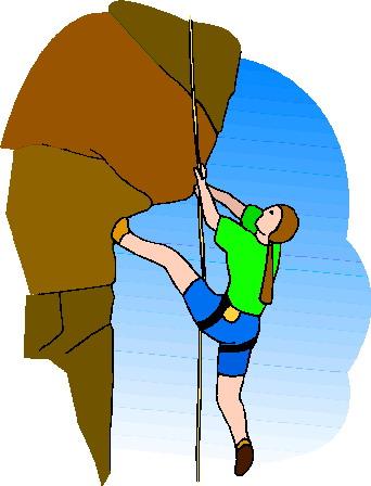 342x448 Mountain Climbing Clip Art Cliparts