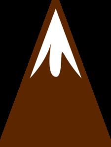 225x298 Mountain Clip Art