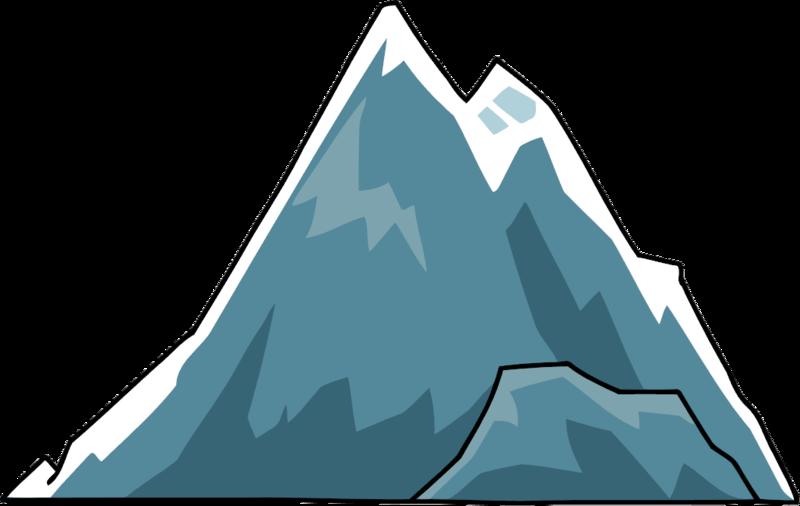 800x506 Mountain Clip Art