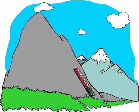 490x393 Luxury Mountain Range Clip Art