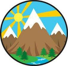 229x220 Mountain Landscape Clipart