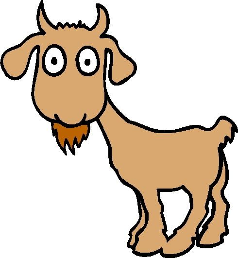 Mountain Goat Clipart