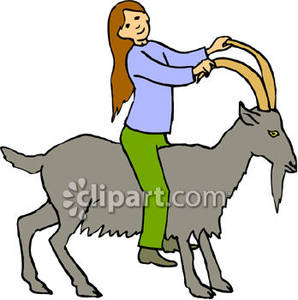 298x300 Goat Clipart Silly