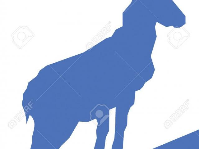 640x480 Mountain Goat Clipart