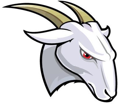 380x340 Mountain Goat Clipart Head