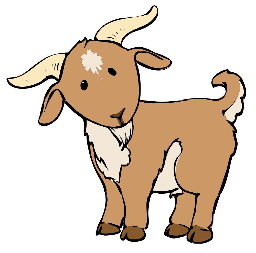 1000x989 Share These Goat Coloring Pages With Your Friends Through Google