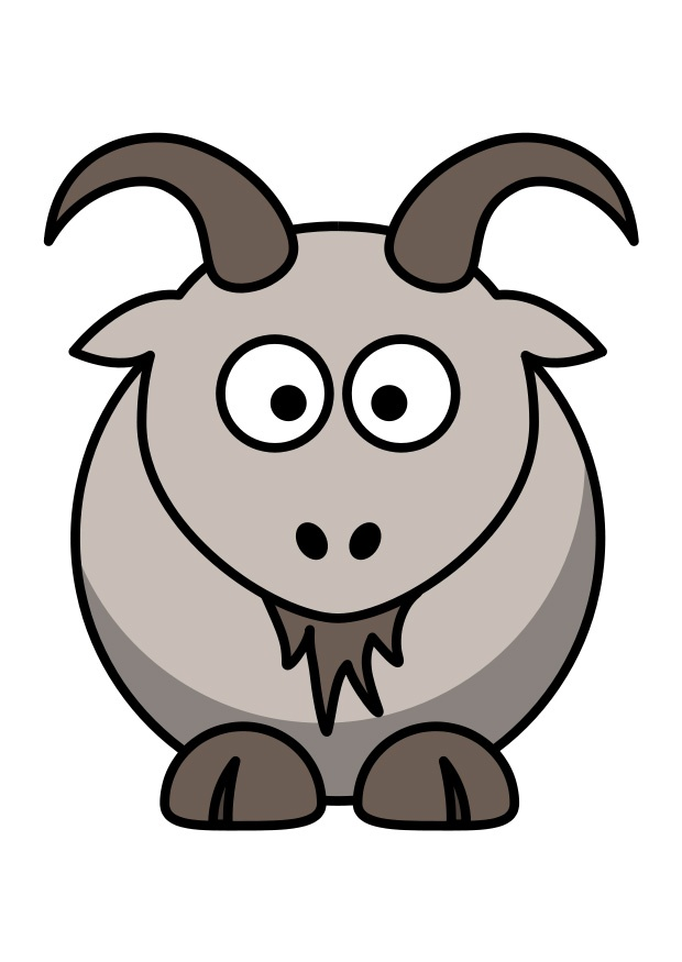 620x875 Billy Goat Clipart Chiva