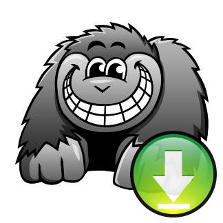 324x324 Cartoon Gorilla Image Download Cartoon