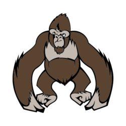 250x250 T Shirt Clip Art For Gorillas