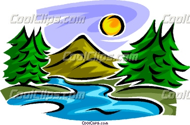 375x247 Mountain And Stream Clipart Amp Mountain And Stream Clip Art Images