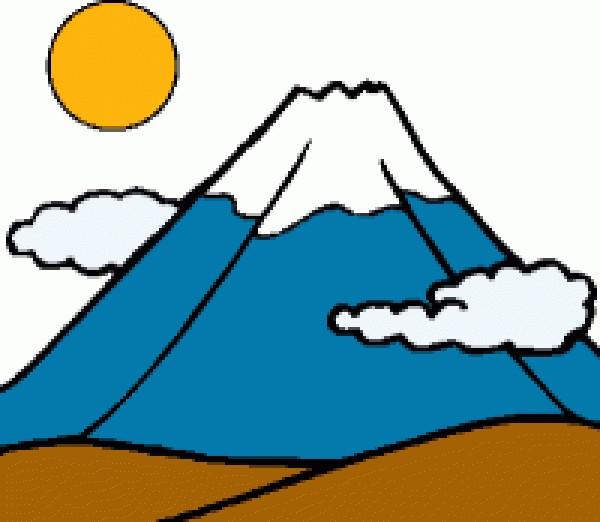 600x522 Mountain Clip Art Clipartlook