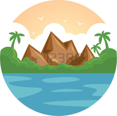450x449 Mountain Clipart Holiday