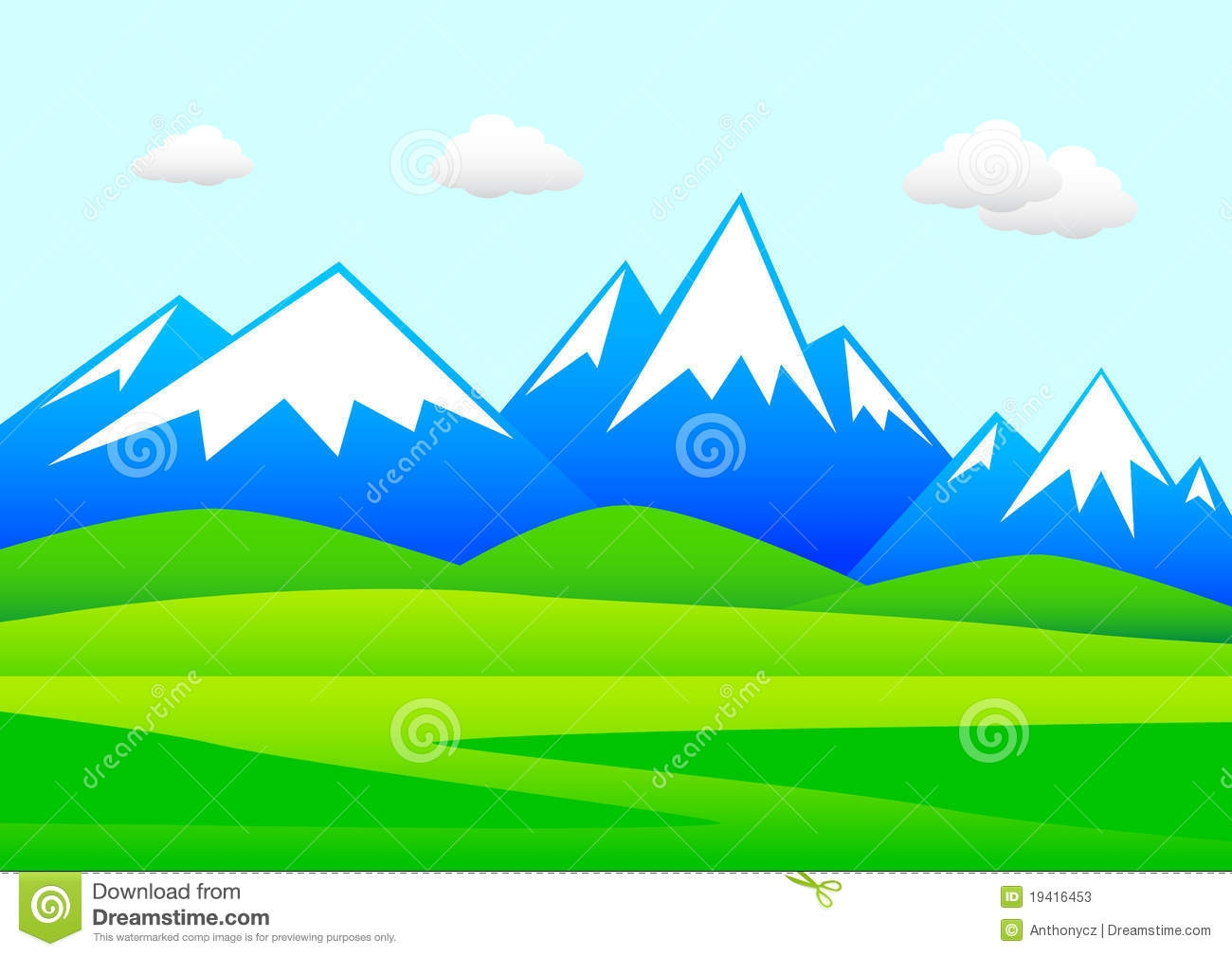 1300x1009 Collection Of Mountain Landscape Clipart High Quality, Free
