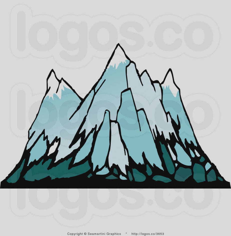 922x940 Trend Mountains Clip Art Snowy Mountain Transparent Png Image