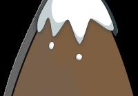 200x140 Mountain Clipart Vector Illustration Of Mountain Landscape Vector