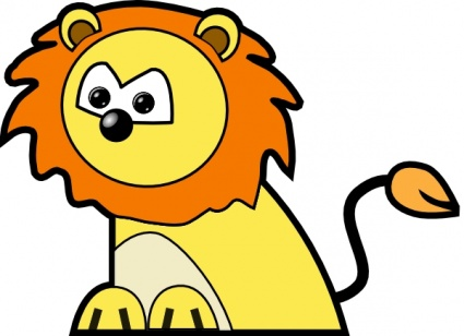 425x308 Fierce Lion Clipart Clipart Panda