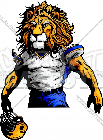 434x590 Lion Football Clipart Amp Lion Football Clip Art Images
