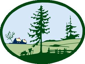 300x226 Country Scene Clip Art