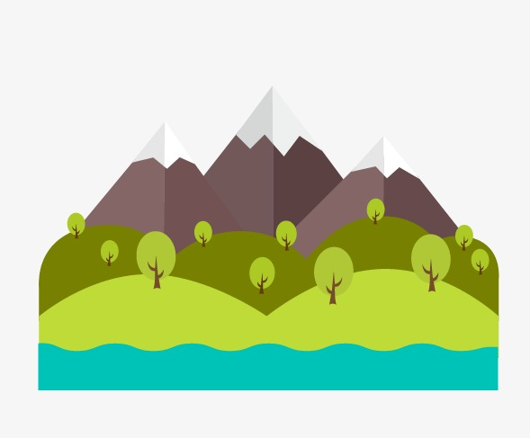 589x487 Mountain Scenery, Mountain, Flat, Landscape Png And Vector