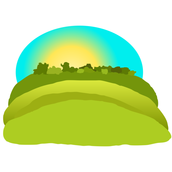 600x600 Mountains Scenery Clipart