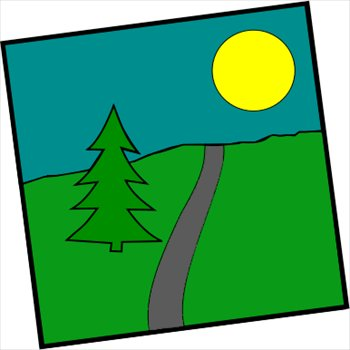 350x350 The Scenic Clipart