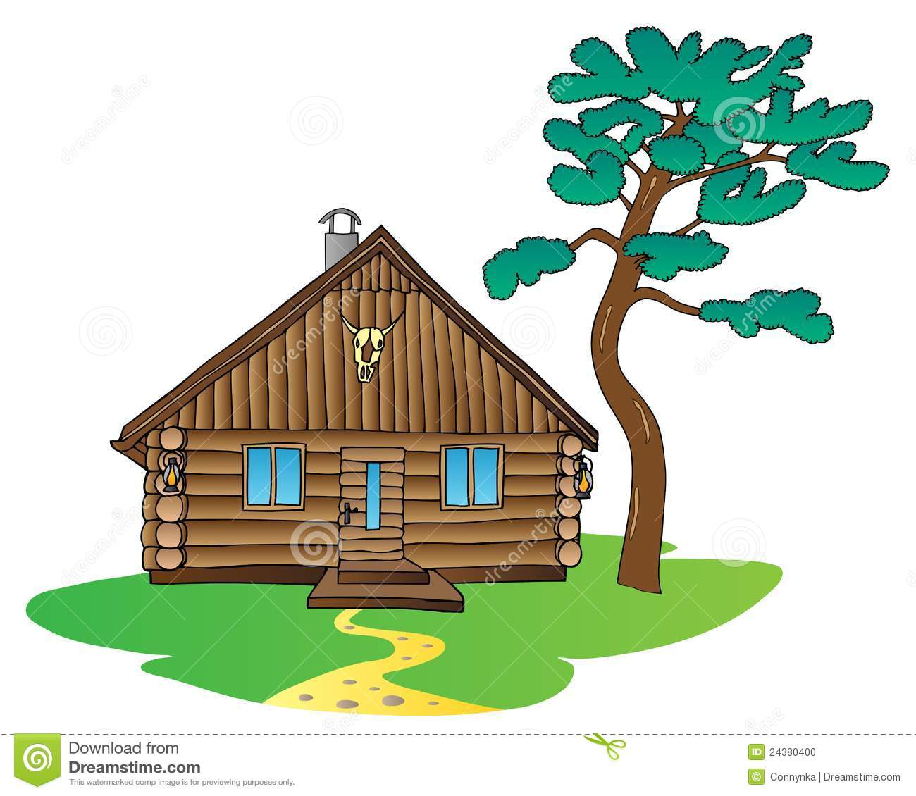 1300x1130 Cabin Clipart Mountain Cabin