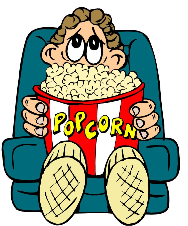 750x904 Watching Movie Clipart Images Amp Pictures