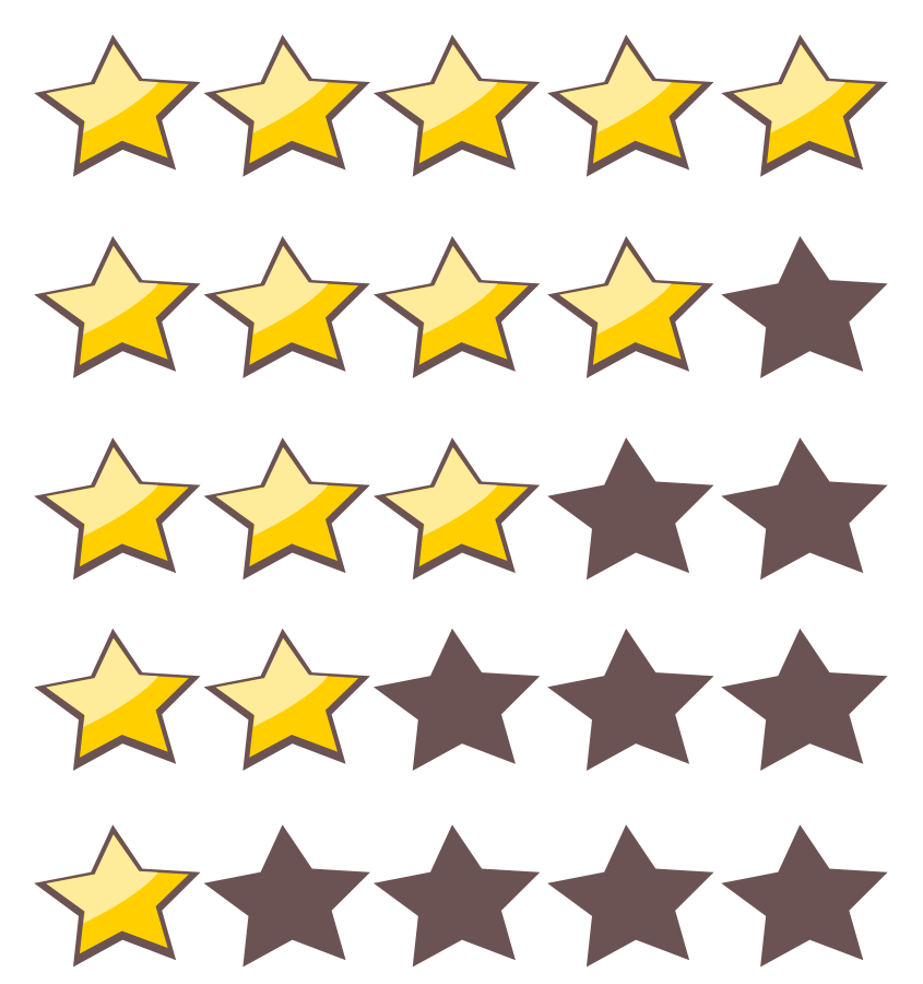 845x900 Free Star Images