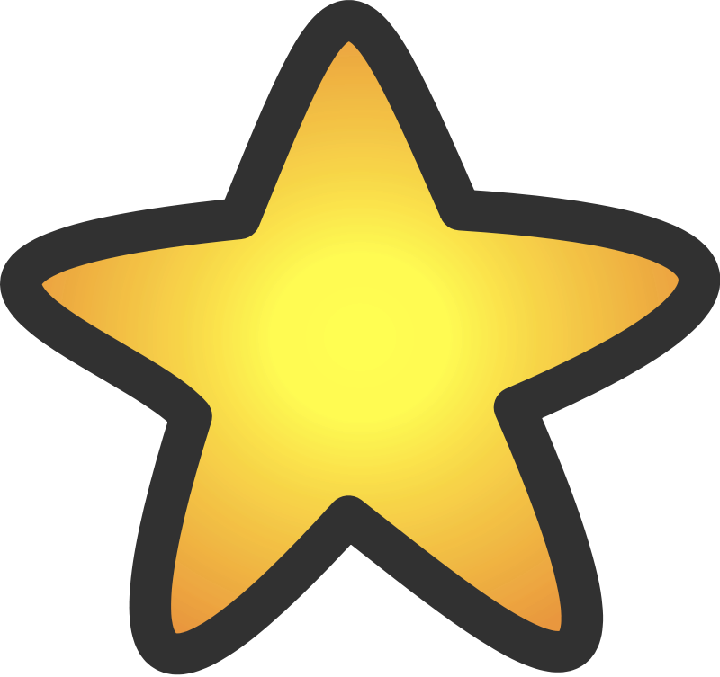 800x753 Gold Star Clipart Hollywood Rocks Theme Lights Movie Action Rock