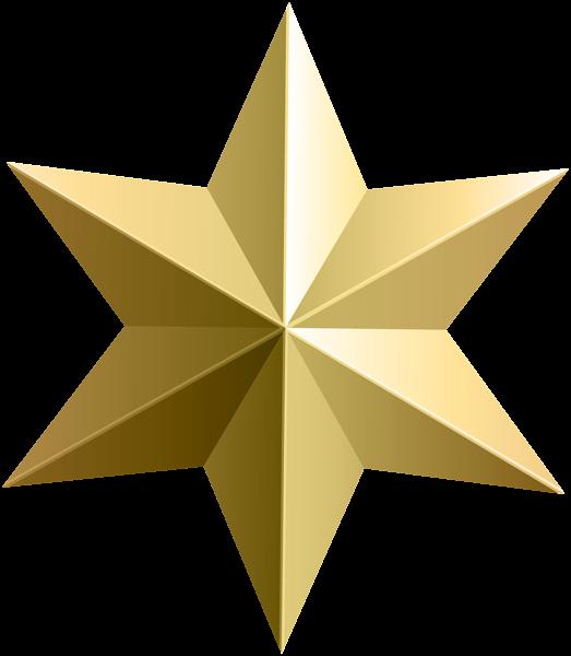 523x600 Hollywood Gold Star Clip Art
