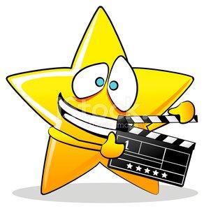 292x299 Movie Star Cartoon Premium Clipart