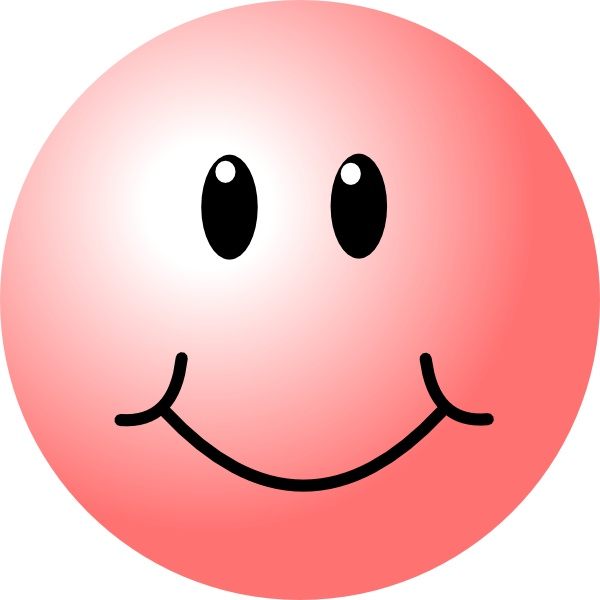 600x600 Movie Star Smiley Face Clipart Collection
