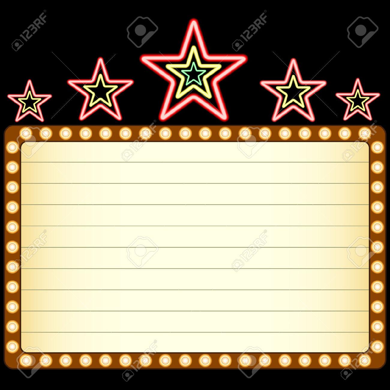1300x1300 Star Marquee Clipart