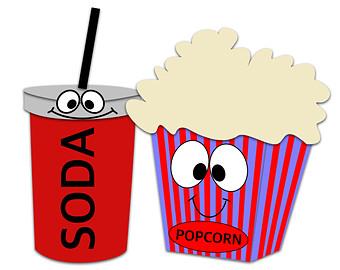 340x270 Popcorn Clip Art Clip Art Popcorn Clipart Popcorn Movie