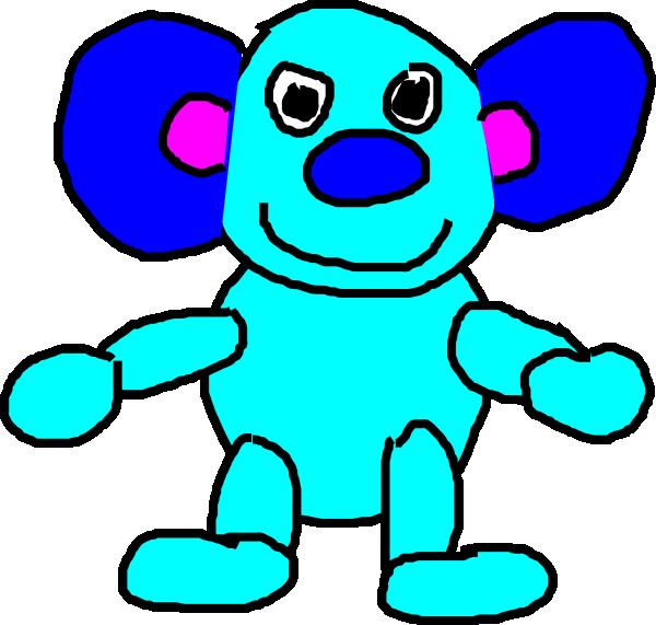 600x571 Koala Mozart Clip Art
