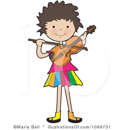 400x420 Mozart Violin Player Clipart Cliparthut