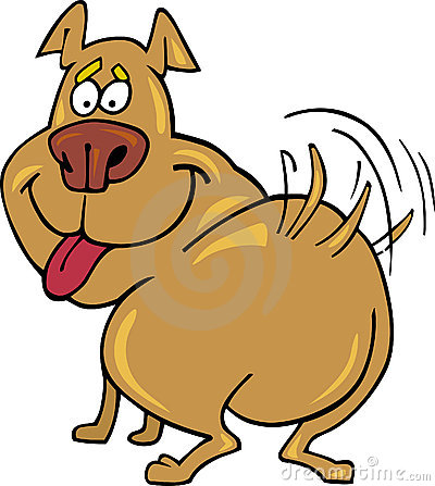 400x447 Wagging Clipart