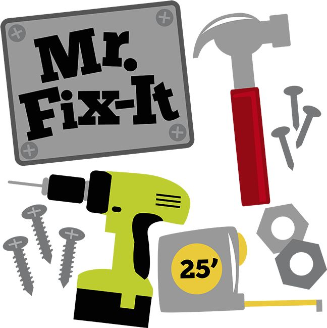 648x649 92 Best Mr. Fix It Images On Books, Card Ideas And Cards