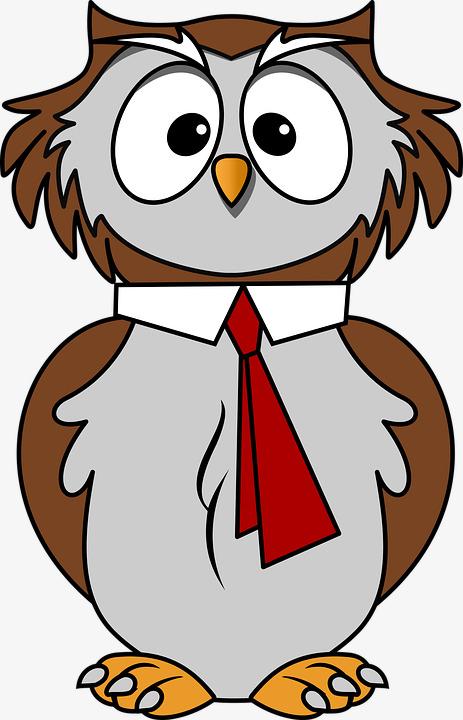 463x720 Mr. Owl Cartoon, Cartoon, Cute Animals, Bird Png Image And Clipart