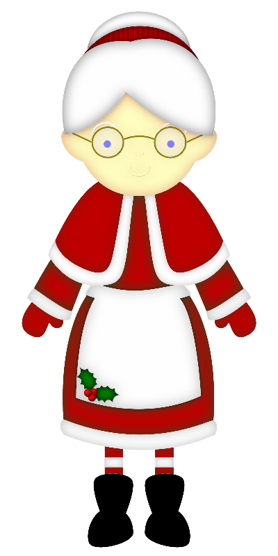 400x800 Dbs Hd Mrsclaus.png Natal, Clip Art And Christmas Clipart