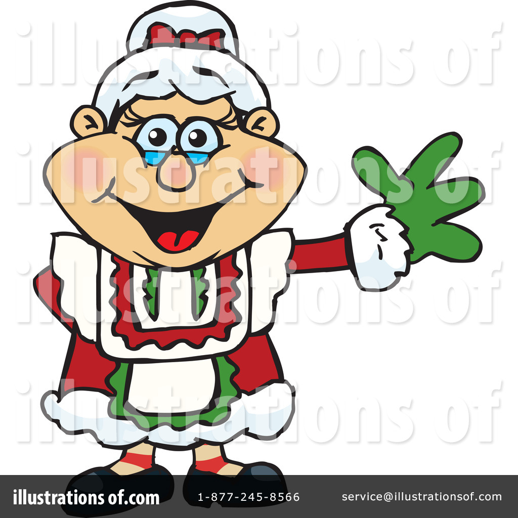 1024x1024 Mrs Claus Clipart