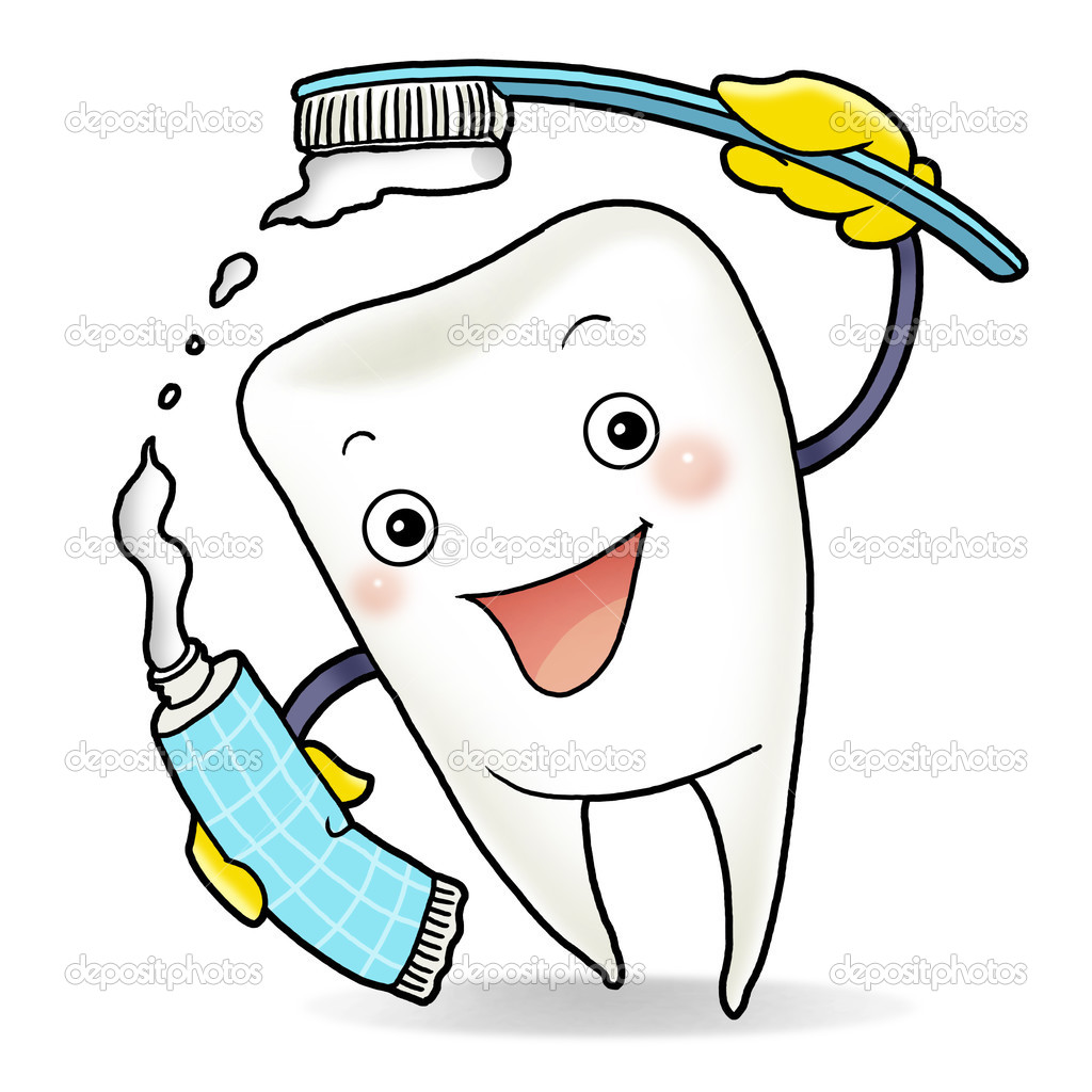 1024x1024 Happy Tooth Clipart