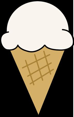 287x450 Vanilla Ice Cream Dripping Clipart
