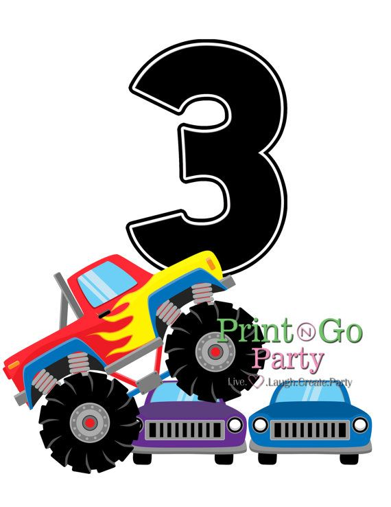 570x738 39 Best Monster Truck Party Images On Monster Truck
