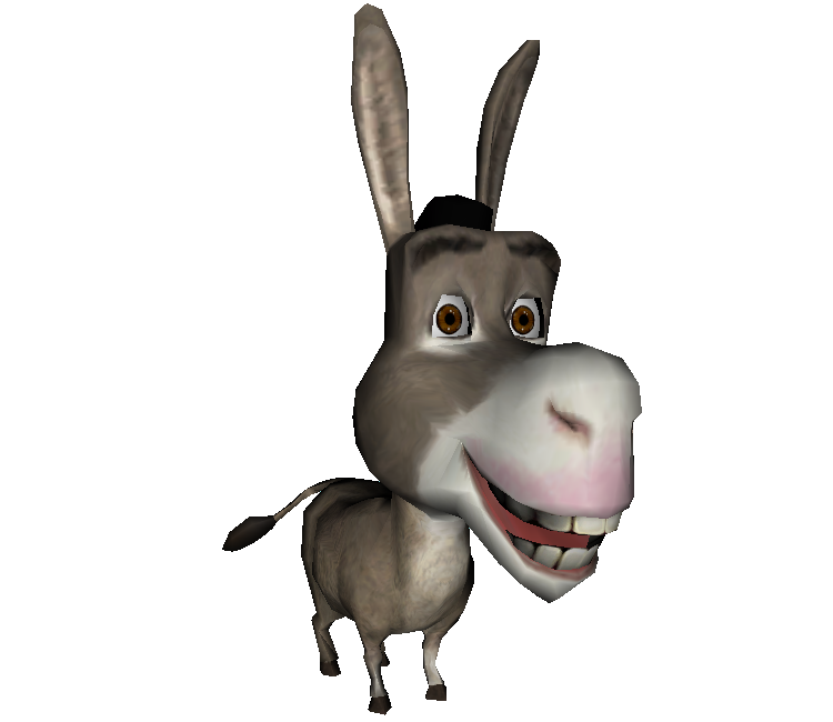 750x650 Mule Clipart Shrek Character