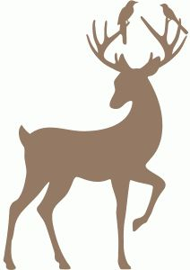 212x300 Deer Clip Art Silhouettes Amp Outlines, Buck And Doe Party