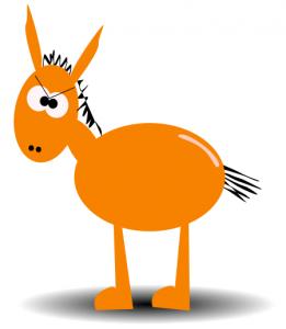 261x300 Mule Clip Art Download
